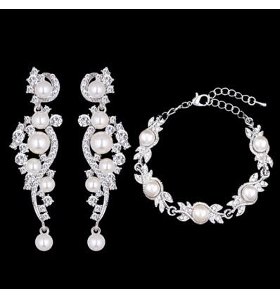 Свадебный набор из стерлингового серебра